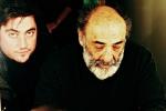 Mirko Aretini con Alessandro Haber