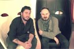 Mirko Aretini con Francesco Tesei
