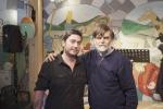 Mirko Aretini con Jacopo Fo