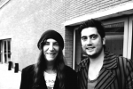 Mirko Aretini con Patti Smith