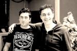 Mirko aretini con Filippo Timi